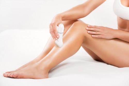 Silk'n LadyShave borotva modell - lábszár borotválása