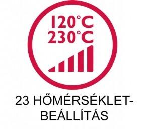 Silk'n ikon: 23 hőmérséklet-beállítás