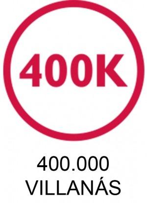 Silk'n 400.000 villanás ikon