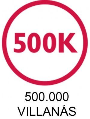 Silk'n 500.000 villanás ikon